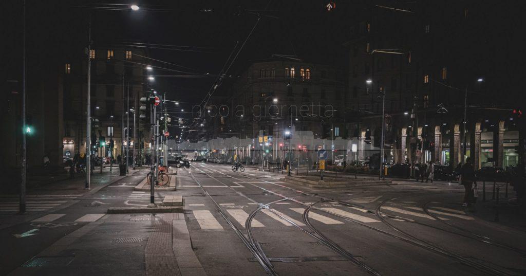 Milano ai tempi del coronavirus.